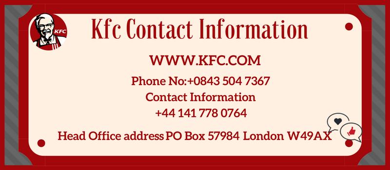 details about kfc