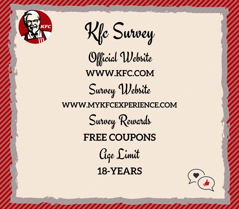KFC Survey - Get free chicken cup coupon at KFC®